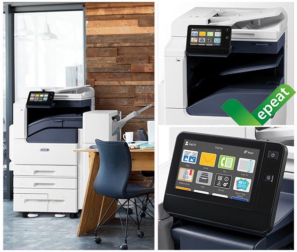 Inteligentny asystent miejsca pracy z obsługą technologii Xerox VersaLink b7000